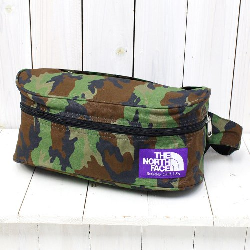 THE NORTH FACE PURPLE LABEL『Camouflage Print Funny Pack』