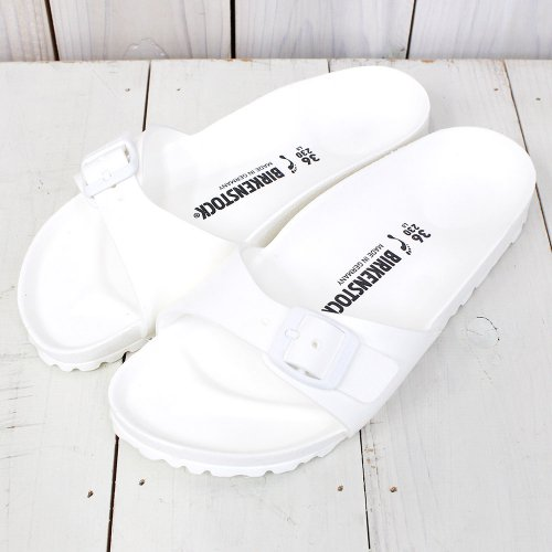 【期間限定SALE20%off】BIRKENSTOCK『EVA Madrid』(White)