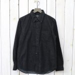 orSlow『BUTTON DOWN SHIRTS』(BLACK DENIM)