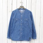 orSlow『NO COLLOR INNER SHIRTS』(DENIM)