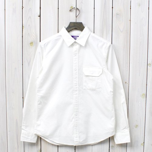 THE NORTH FACE PURPLE LABEL『COOLMAX® Stretch OX Shirt』(White)