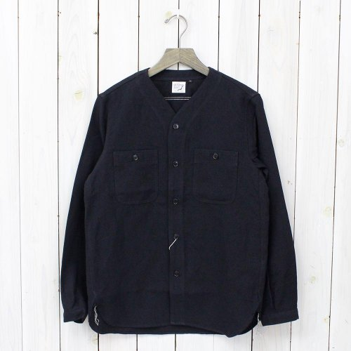 【SALE特価60%off】orSlow『NO COLLOR INNER SHIRTS』(BLACK)