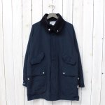 SASSAFRAS『FALL LEAF TUBE COAT』(NAVY)