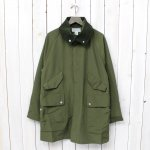 SASSAFRAS『FALL LEAF TUBE COAT』(OLIVE)