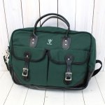 SOUTH2 WEST8『18oz Canvas La Crosse Briefcase』(Hunter Green)
