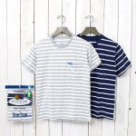 FRUIT OF THE LOOM×BLUE BLUE『BORDER CN 2PACK POCKET SST』(C)