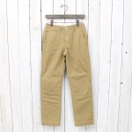 orSlow『SLIM FIT ARMY TROUSER』(KHAKI)