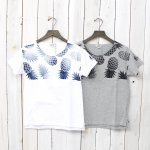 FWK by ENGINEERED GARMENTS『Printed Cut off Neck T-shirt-Pineapple』