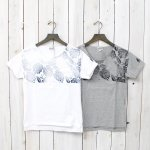 FWK by ENGINEERED GARMENTS『Printed Cut off Neck T-shirt-Leaf』