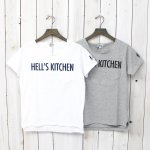 FWK by ENGINEERED GARMENTS『Printed Cut off Neck T-shirt-Hell's Kitchen』