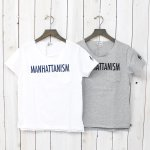 FWK by ENGINEERED GARMENTS『Printed Cut off Neck T-shirt-Manhattanism』