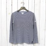 FWK by ENGINEERED GARMENTS『Bask Shirt-Narrow St. Jersey』(Navy/Grey)