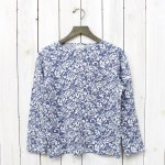 FWK by ENGINEERED GARMENTS『Bask Shirt-Floral Jacquard French Terry 』(Navy)