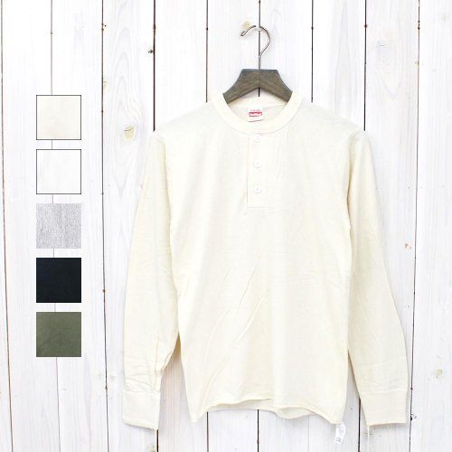【SALE特価60%off】HEALTHKNIT『HENLEY LONG SLEEVE』