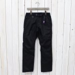 THE NORTH FACE PURPLE LABEL『COOLMAX® Stretch Twill Straight Pants』(Black)