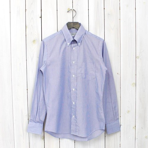 INDIVIDUALIZED SHIRTS『HAIRLINE STRIPE』(NAVY)