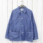 SASSAFRAS『WHOLE HOLE JACKET』(BLUE)