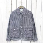 SASSAFRAS『PLANT HUNTER JACKET』(WHITE/INDIGO)