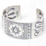 hobo『Hogan Silver Bracelet Wide by STANLEY PARKER』