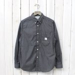 SASSAFRAS『GREEN THUMB SHIRT』(BROWN)