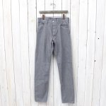 SASSAFRAS『SPRAYER 5 PANTS』(HEATHER GRAY)