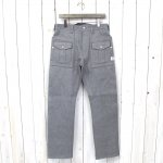 SASSAFRAS『BOTANICAL SCOUT J PANTS』(HEATHER GRAY)