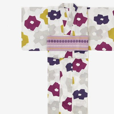 【30%OFF】 SOU・SOU×京都丸紅 浴衣/折り紙 半夏生(※お仕立上り)