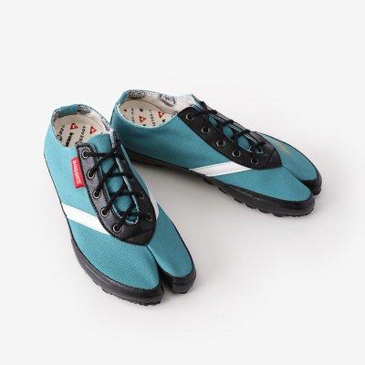運動足袋LOW/花緑青(はなろくしょう)