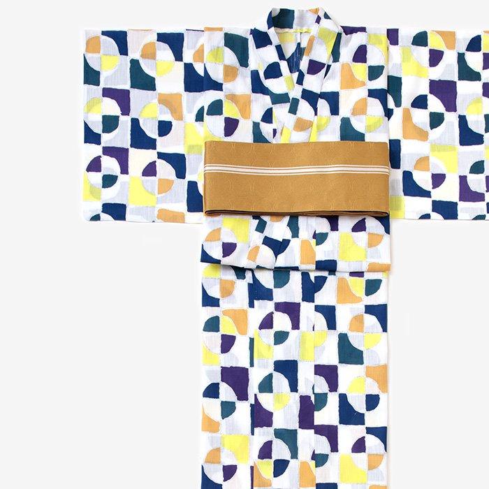 SOU・SOU×京都丸紅 浴衣/万華鏡 月光(まんげきょう げっこう)