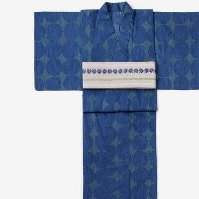 SOU・SOU×京都丸紅 浴衣/おはじき大 紺青色(だい こんじょういろ)