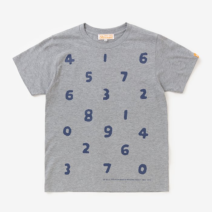 SO-SU-U 半袖Tシャツ/杢灰(もくはい)
