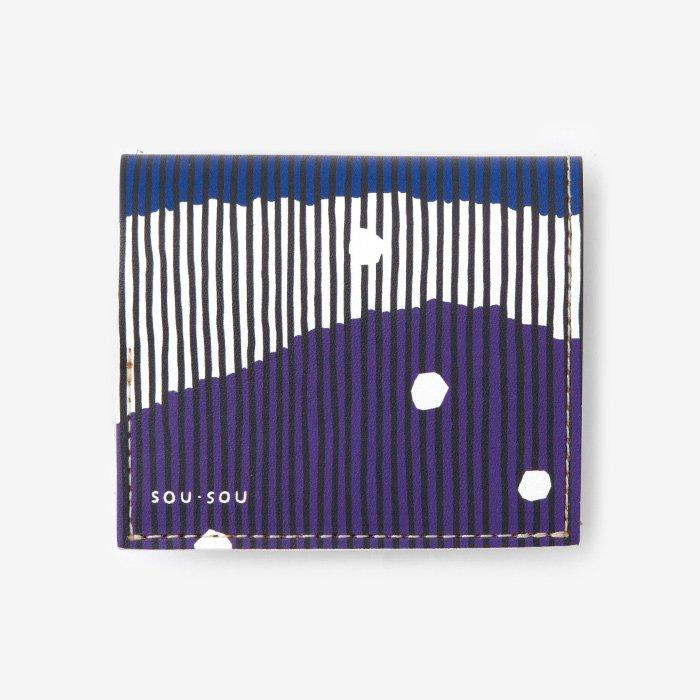 SOU・SOU×クアトロガッツ 小さいふ。/山紫水明(さんしすいめい)