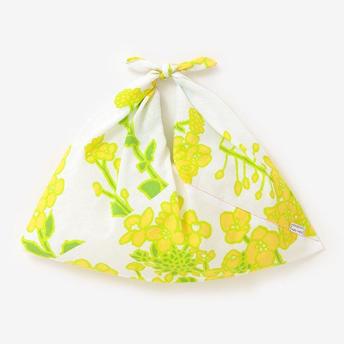 伊勢木綿 小巾折/菜の花