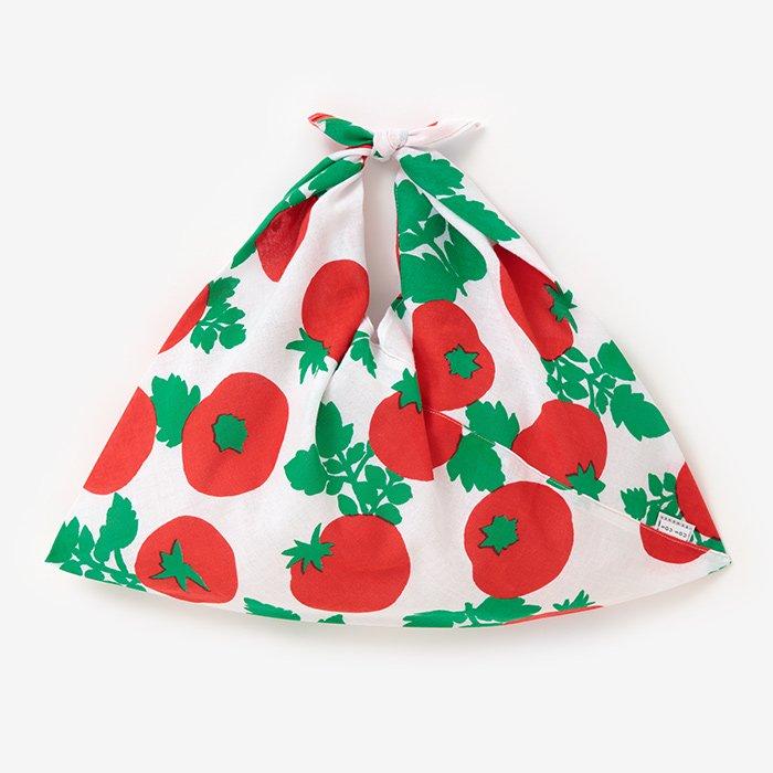 伊勢木綿 小巾折/トマト