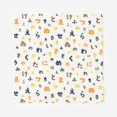 平織り21番手 座布団(クッション)カバー/色は匂へど 山遊び【※お届けに約3週間】