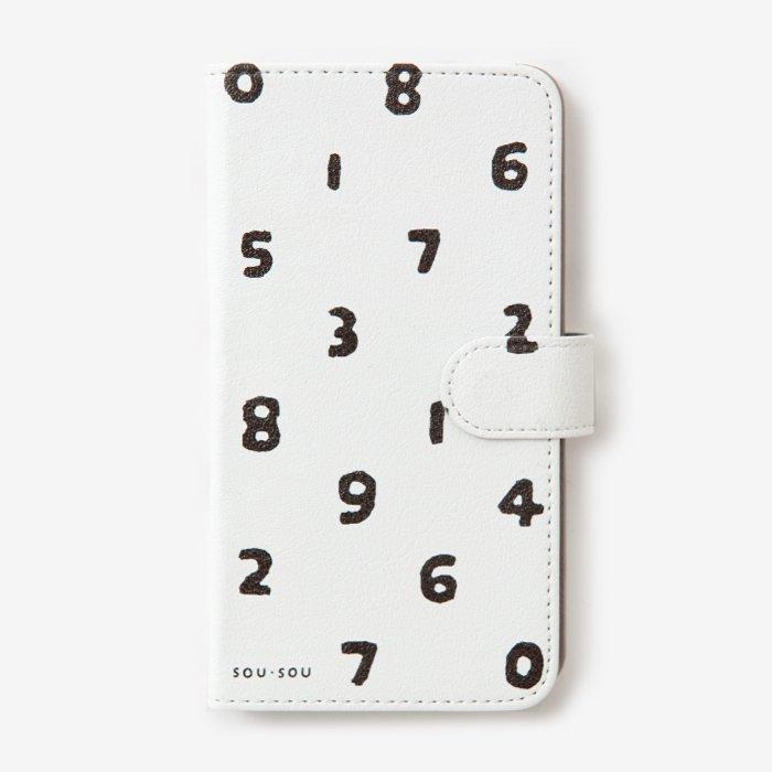 手帳型テキスタイルカバ−/SO-SU-U つくも