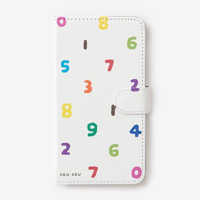 手帳型テキスタイルカバ−/SO-SU-U いろいろ