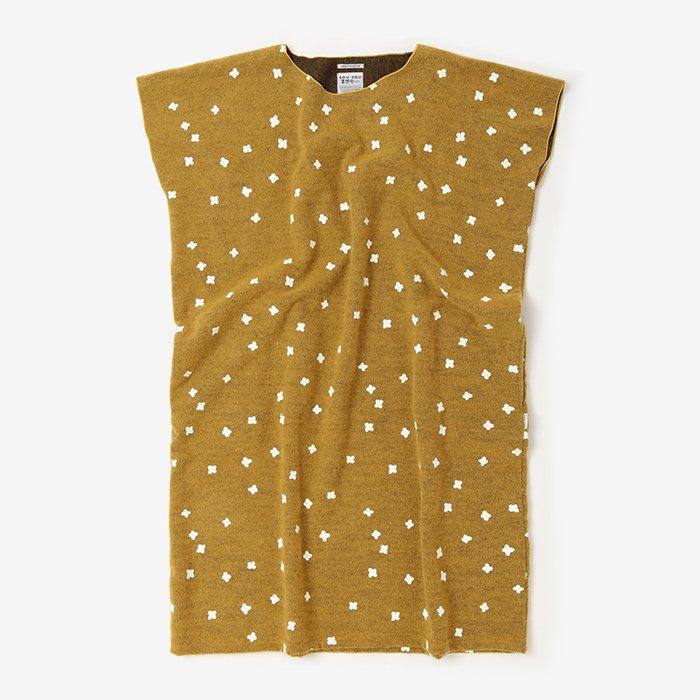 羅紗 長方形衣(らしゃ ちょうほうけい)/小花ちらし 黄金色(こがねいろ)
