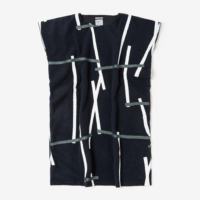 羅紗 長方形衣(らしゃ ちょうほうけい)/鳶 濃紺(とび のうこん)