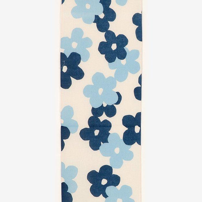 【40%OFF】B反生地セール(藍捺染 手ぬぐい)/花がさね