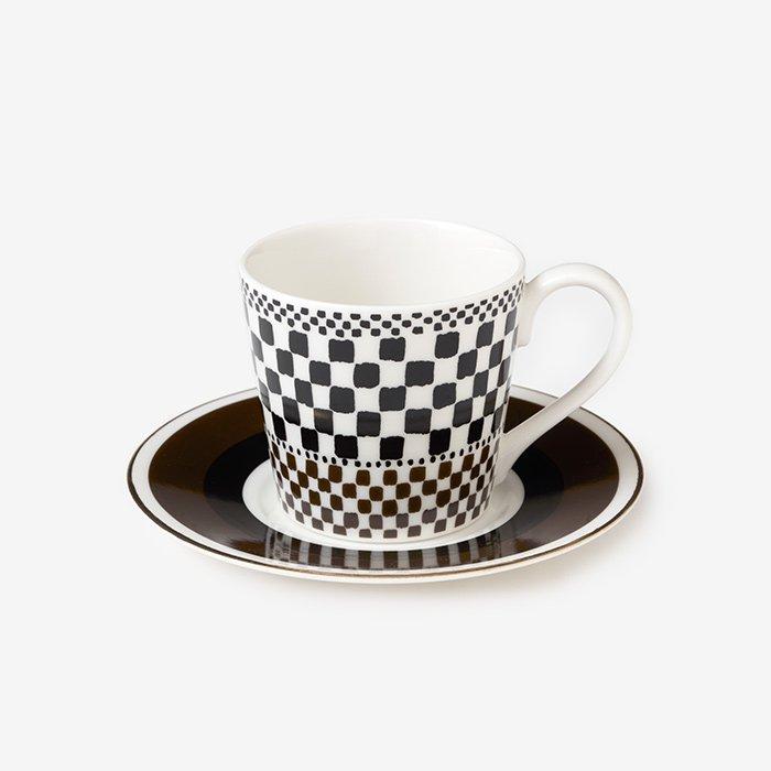 テキスタイル コーヒーカップ&ソーサー/花筵(はなむしろ)