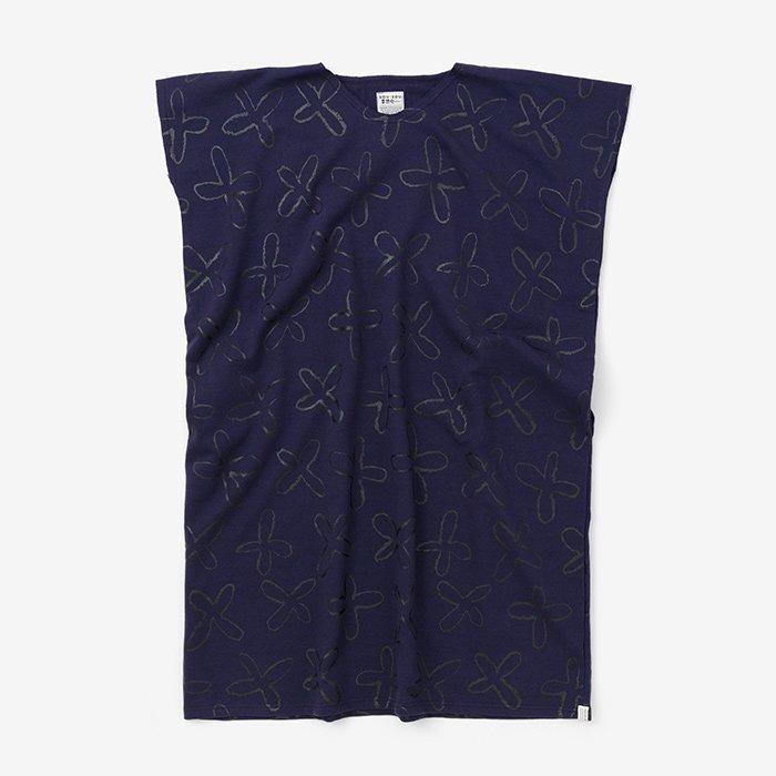 裏毛 長方形衣(うらけ ちょうほうけい)/すずしろ 濃紫(こきむらさき)