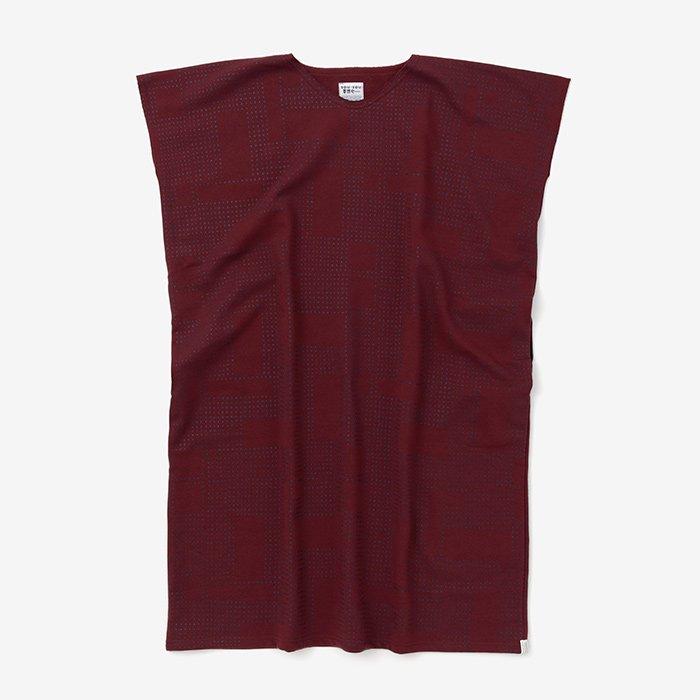 裏毛 長方形衣(うらけ ちょうほうけい)/影 赤錆色(かげ あかさびいろ)