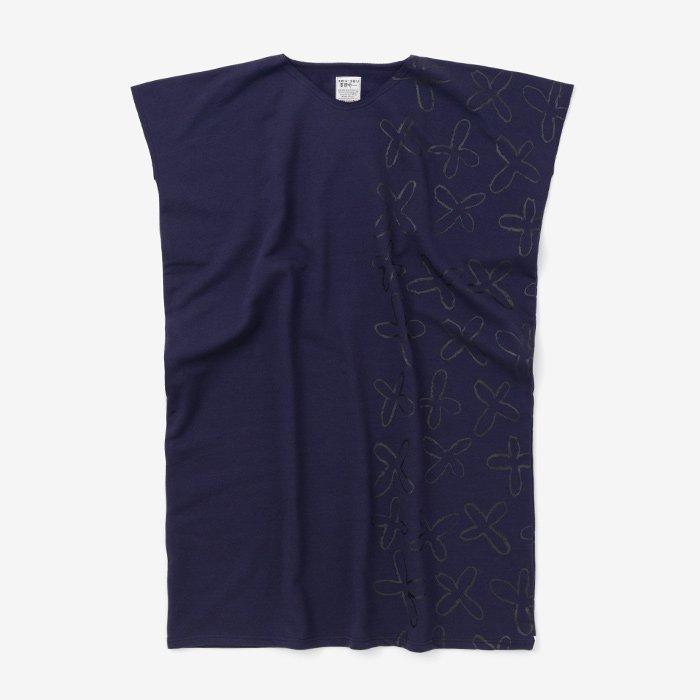 裏毛 長方形衣(うらけ ちょうほうけい)/すずしろと余白 濃紫(こきむらさき)