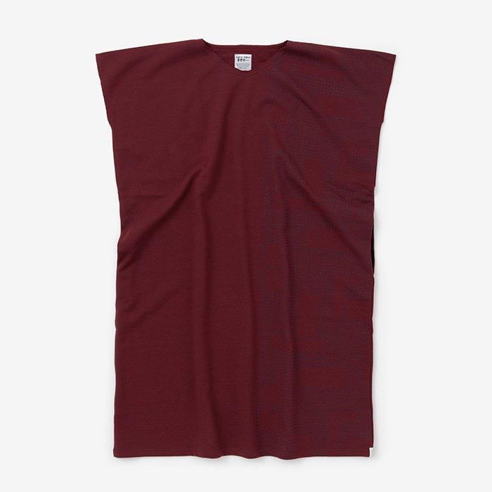 裏毛 長方形衣(うらけ ちょうほうけい)/影と余白 赤錆色(かげとよはく あかさびいろ)