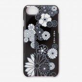 iPhone6/6s/7 テキスタイルカバー/金襴緞子 夜色