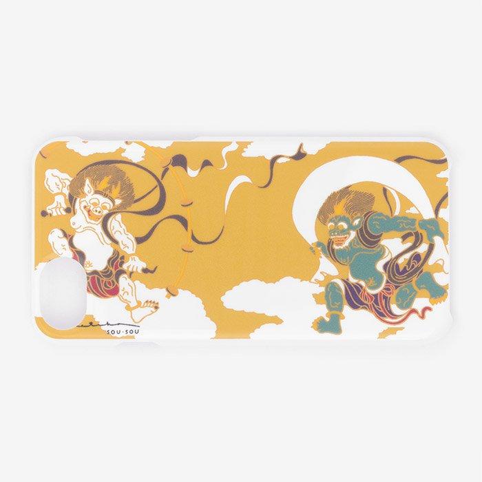 iPhone6/6s/7 テキスタイルカバー/風神雷神