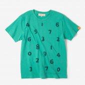 刺繍化 SO-SU-U 半袖Tシャツ/青竹色(あおたけいろ)2
