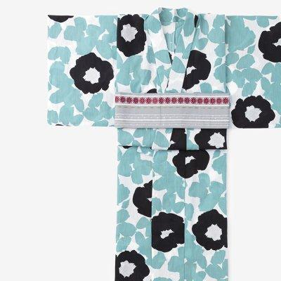 SOU・SOU×京都丸紅 浴衣/優 水縹(ゆう みずはなだ)