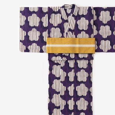 SOU・SOU×京都丸紅 浴衣/明かり窓 朗月(ろうげつ)